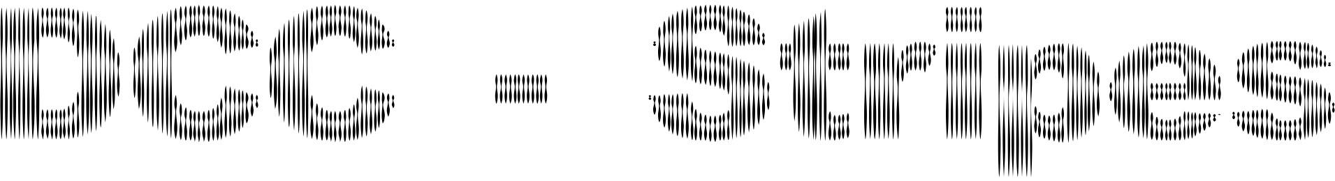 DCC - Stripes