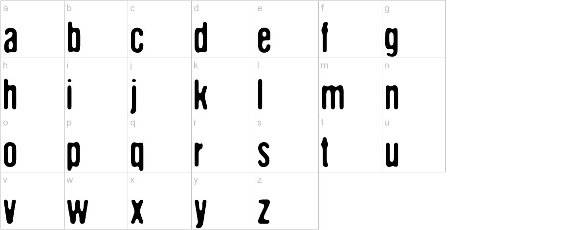 DCC - The aliens are coming lowercase