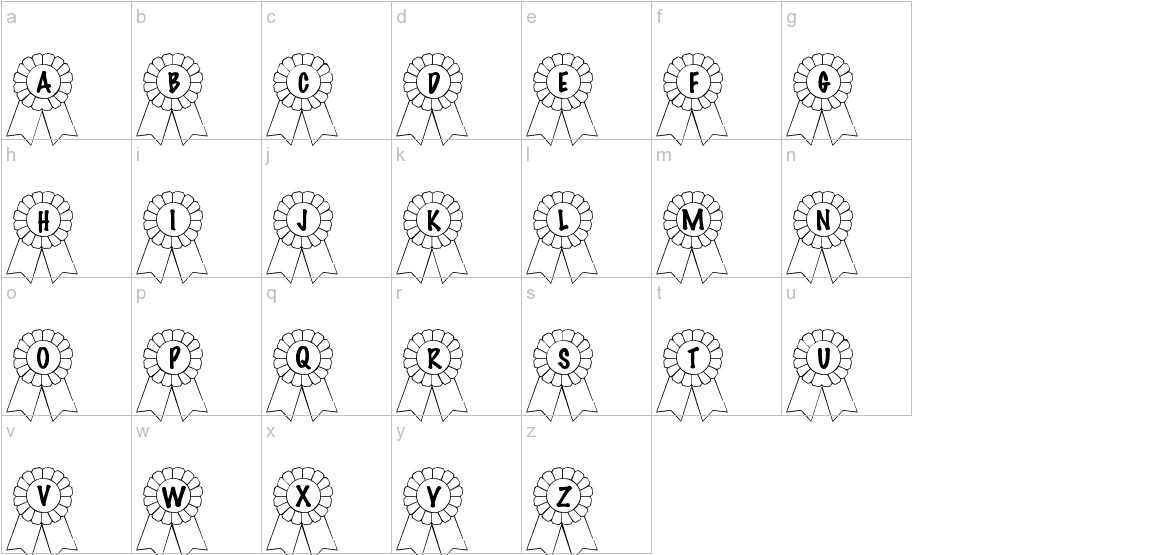 101! Awards Won lowercase