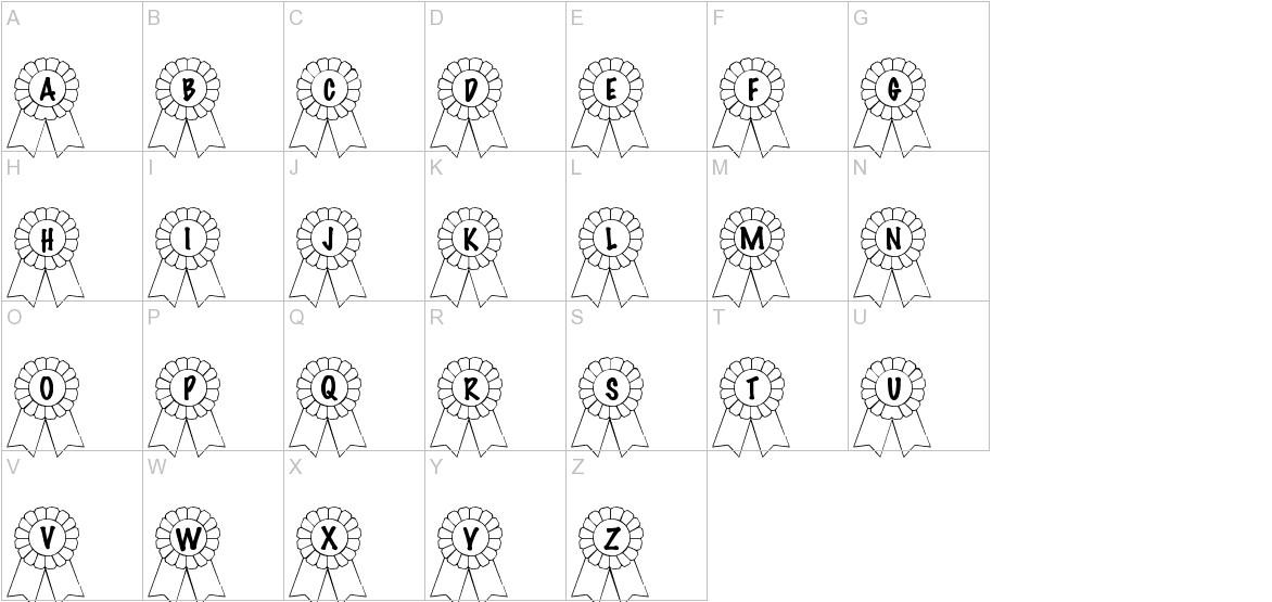 101! Awards Won uppercase
