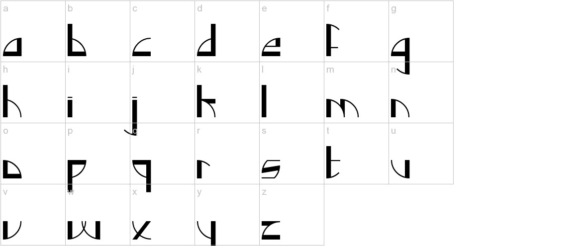 Backlog Normal lowercase