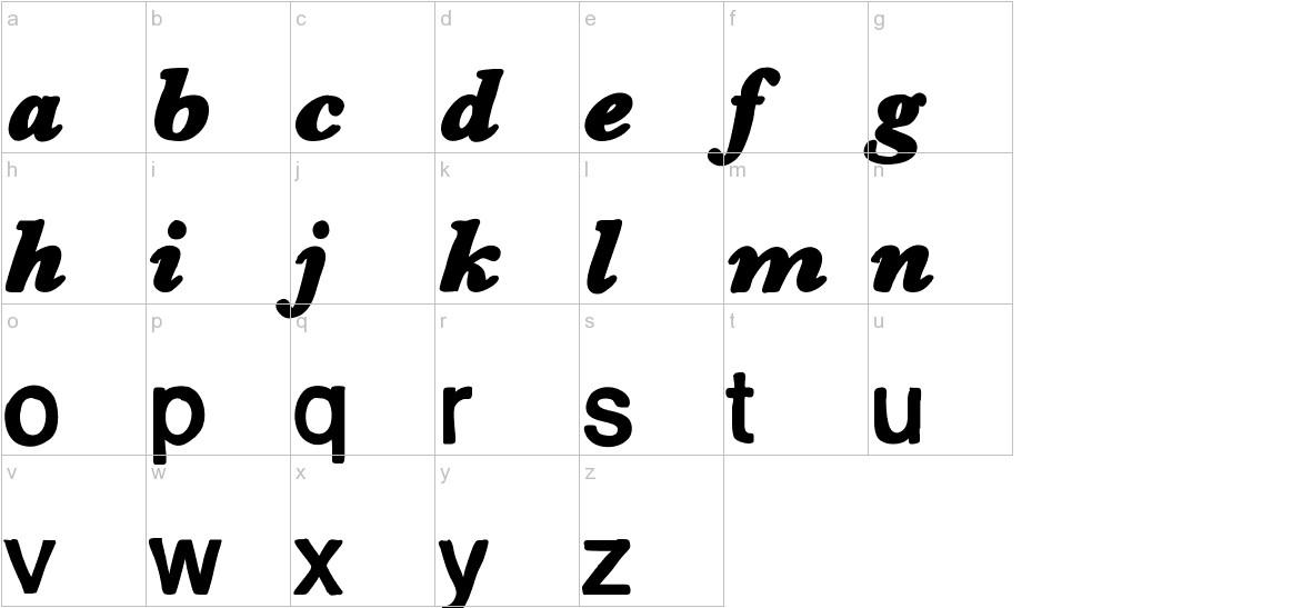 Dessin123 lowercase