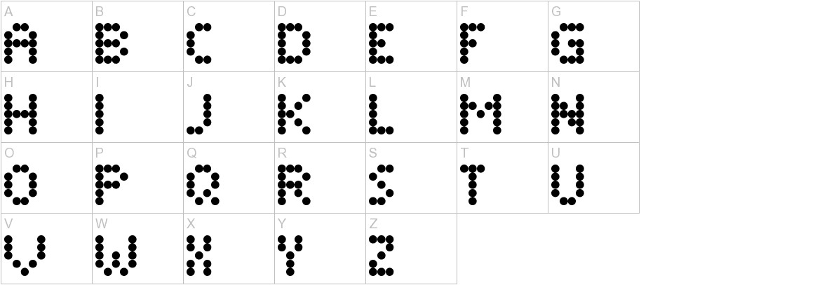 Dimelthoz Mini uppercase