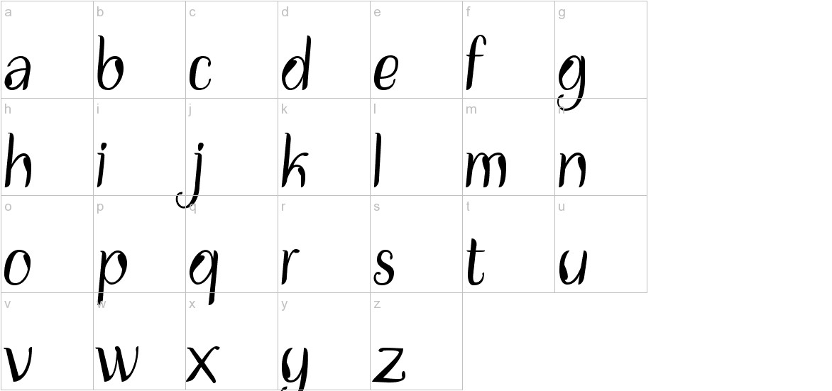 Disguise Display lowercase