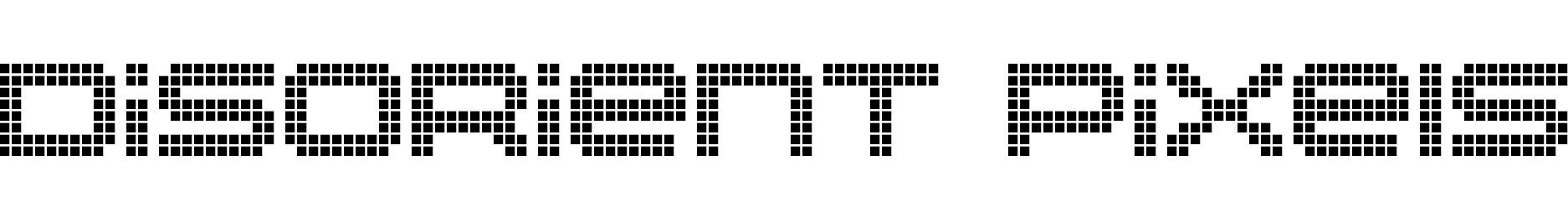 Disorient Pixels