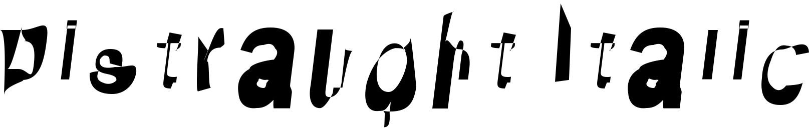 Distraught Italic