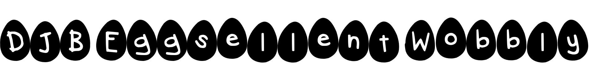 DJB Eggsellent Wobbly