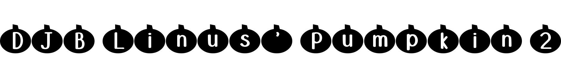 DJB Linus' Pumpkin 2