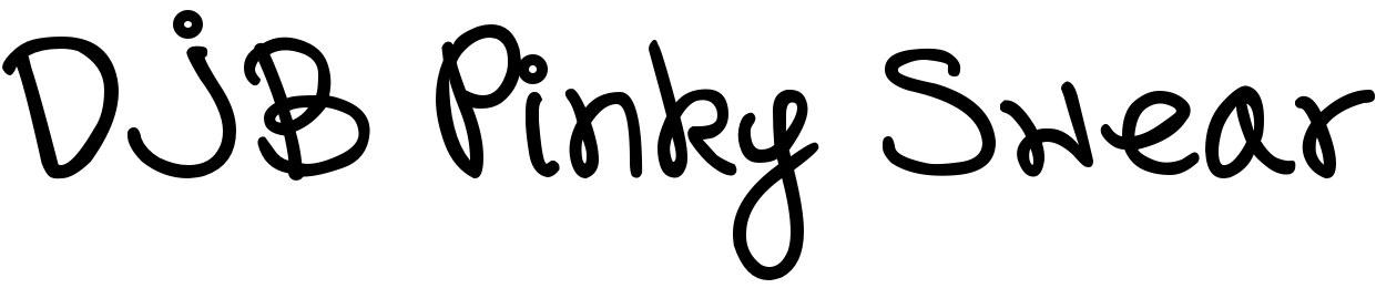 DJB Pinky Swear