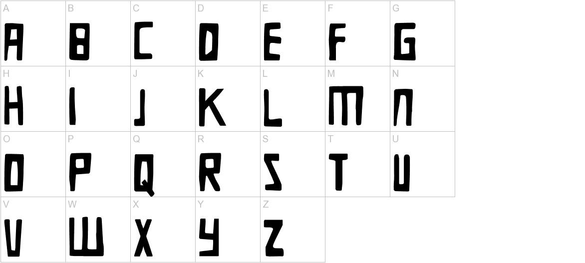 DK Die Bruecke uppercase
