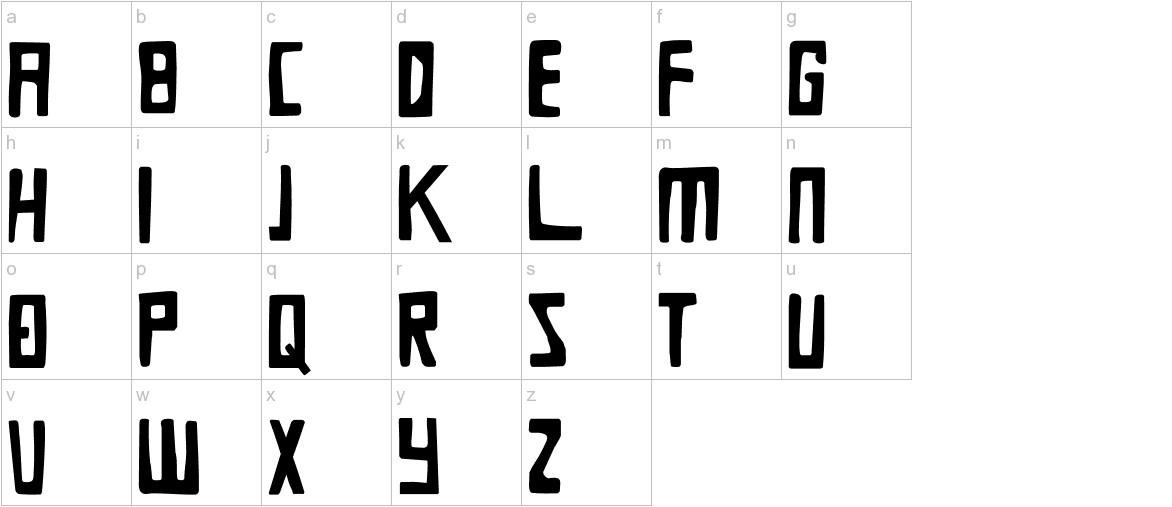 DK Die Bruecke lowercase
