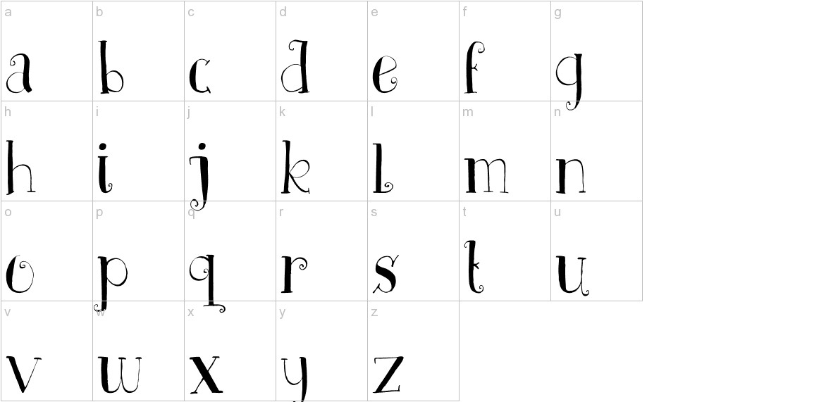DK Father Frost lowercase