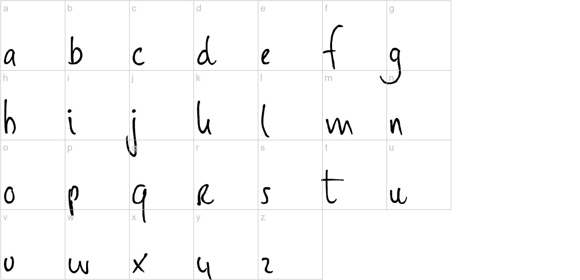 DK Huginn And Muninn lowercase