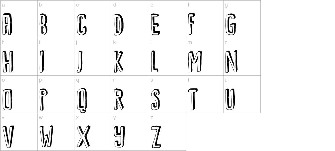 DK Kwark lowercase
