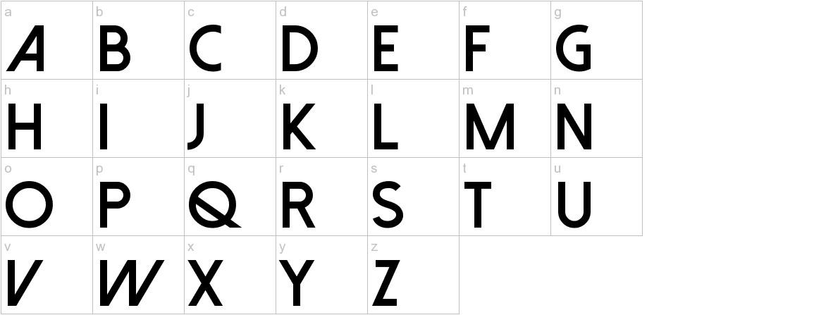 Dolce Vita Heavy Bold lowercase