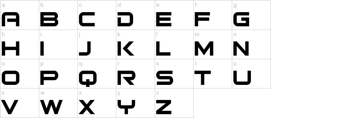 Bitsumishi lowercase