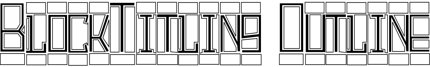 BlockTitling Outline