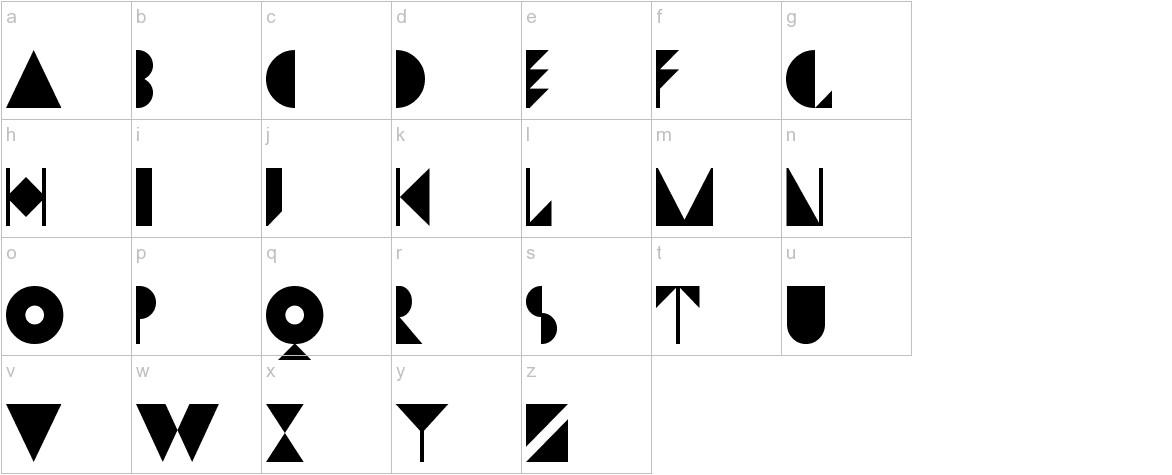 Dwiggins Initials KK lowercase