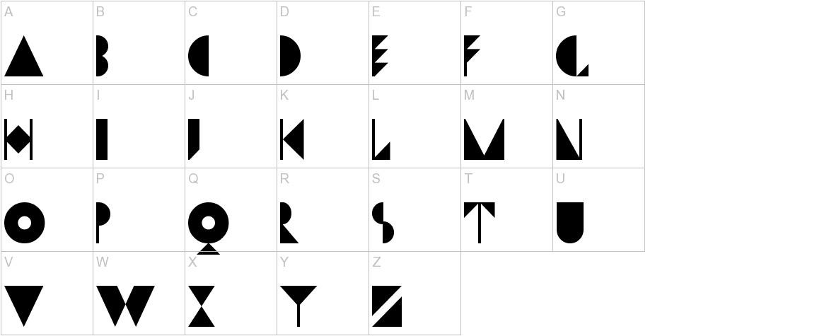Dwiggins Initials KK uppercase