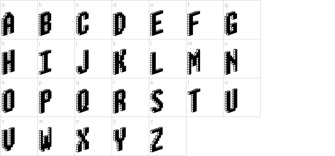 Blox (BRK) lowercase