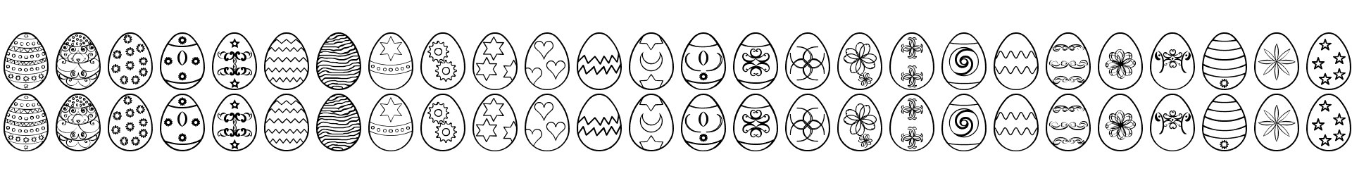 Easter eggs ST
