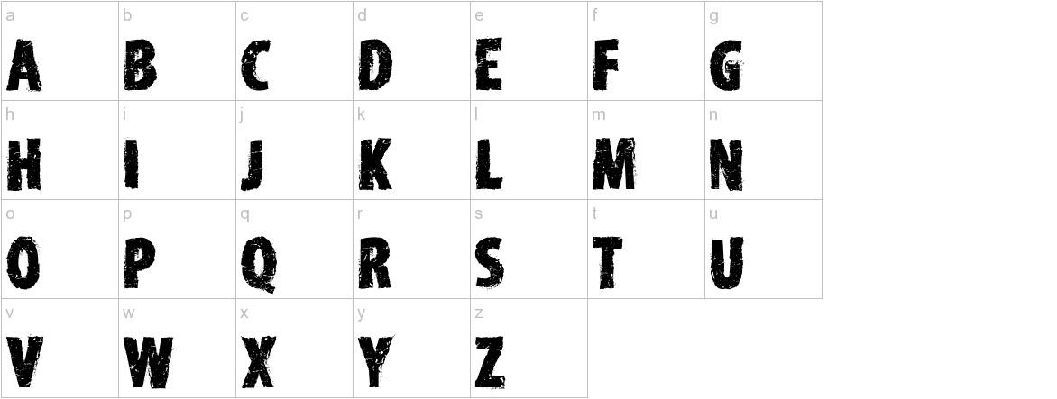 Edirne Normal lowercase