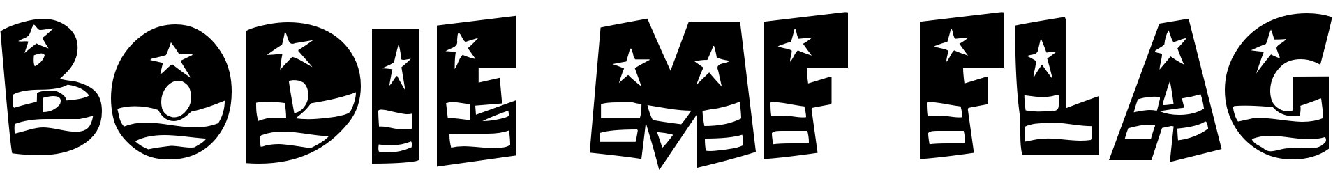 Bodie MF Flag