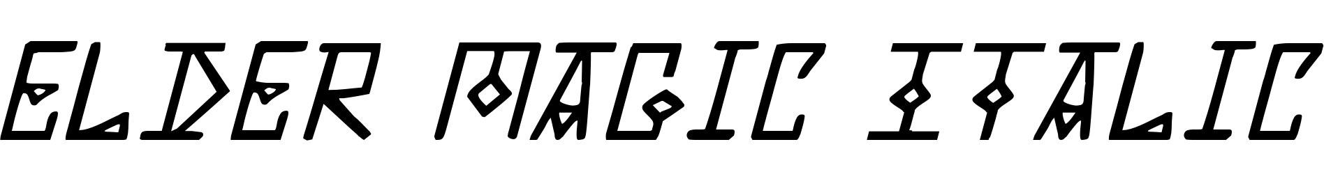 Elder Magic Italic