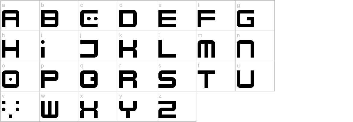 Electrobyte lowercase