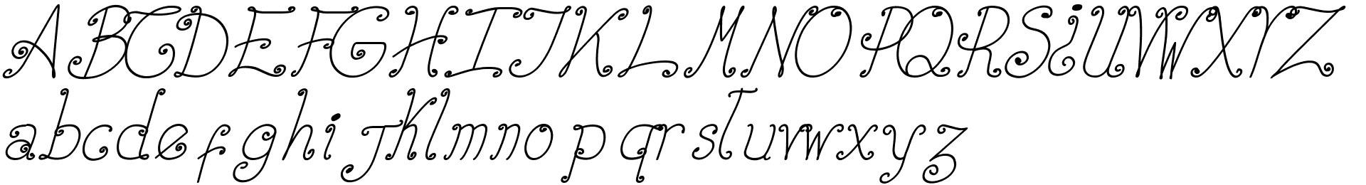 Elizabeth Ruelas Cursiva Italic