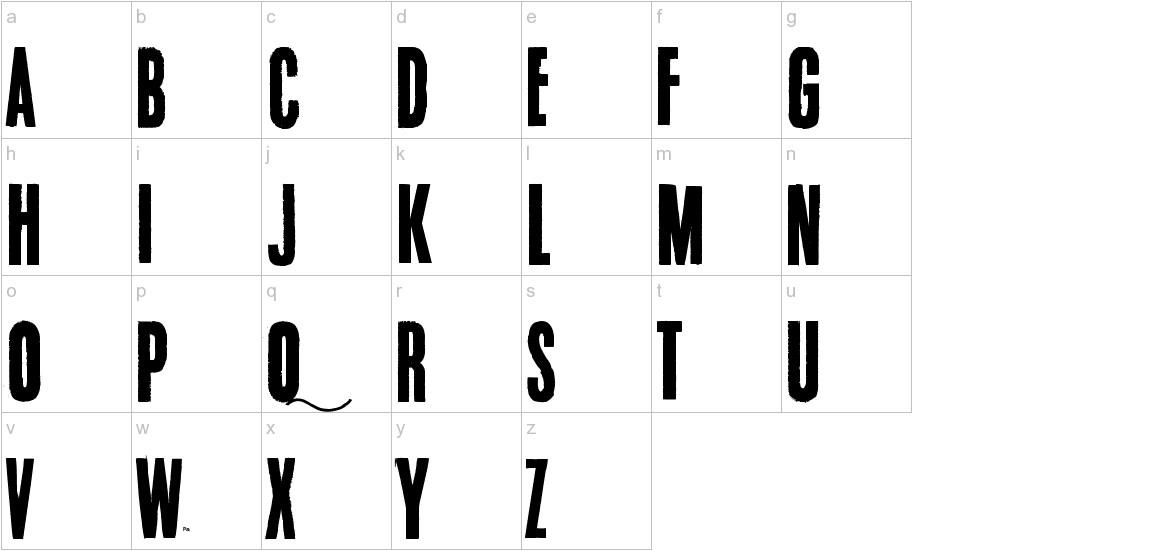 Endrophenomeua lowercase