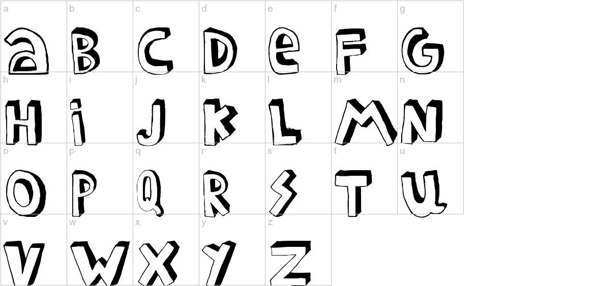 FEDERICO lowercase