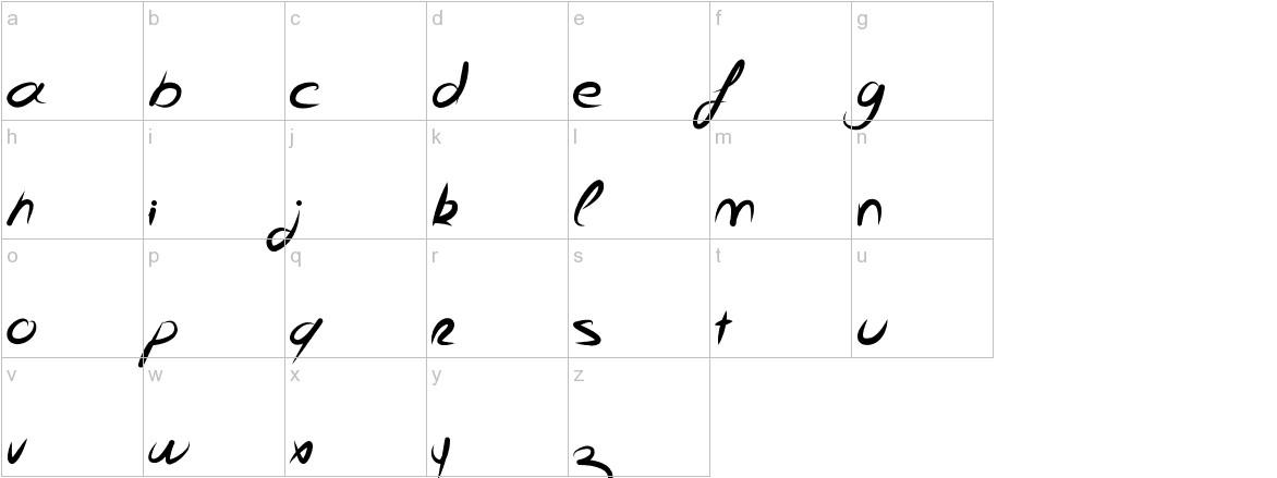 FeliX lowercase