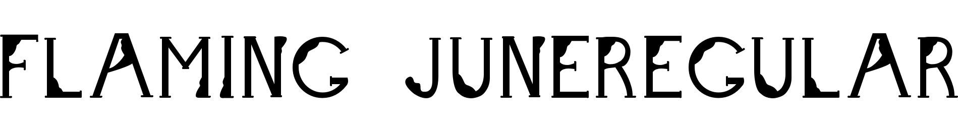 Flaming JuneRegular