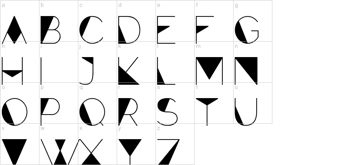Forte lowercase