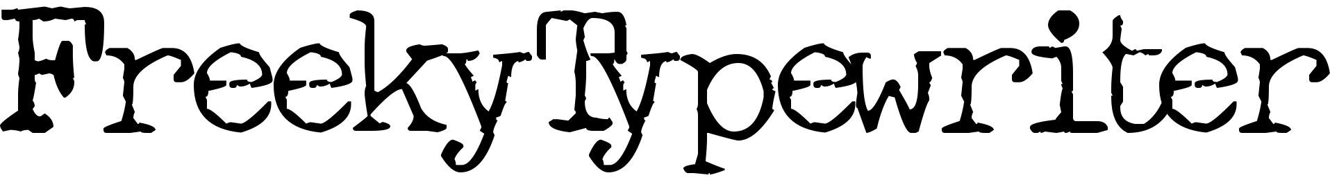 FreekyTypewriter