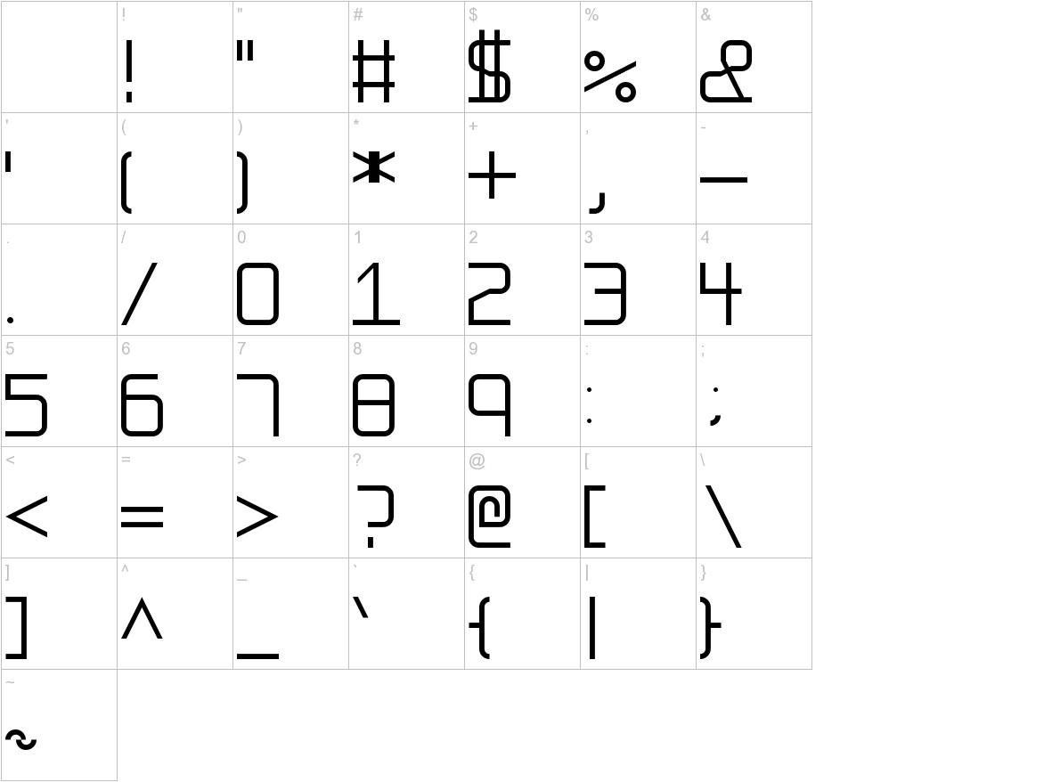 FS Ellipsis characters