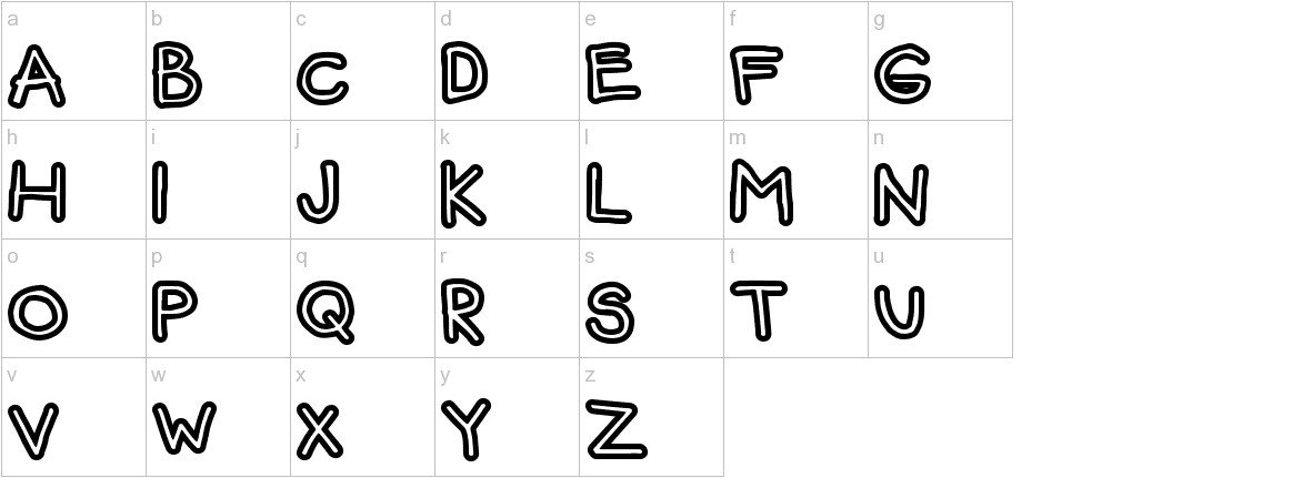 FunBear lowercase