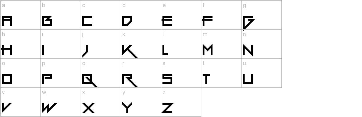 Gang Wolfik lowercase