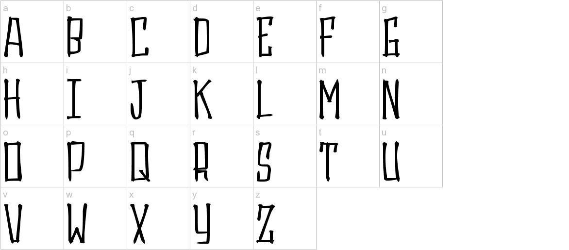 Gasrux lowercase