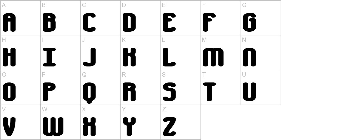 Chumbly BRK uppercase