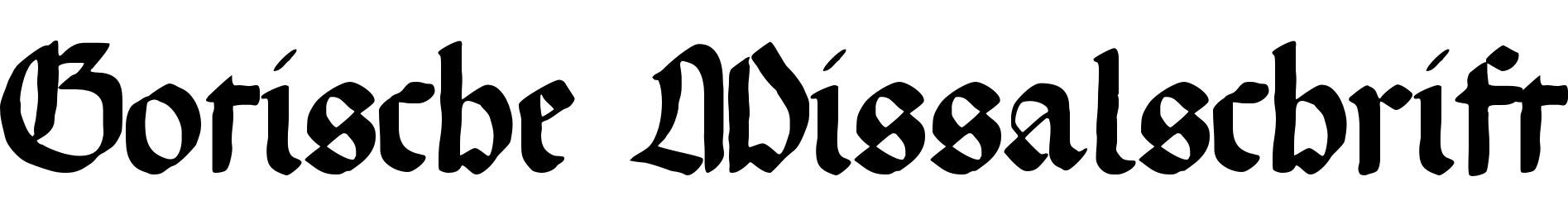 Gotische Missalschrift