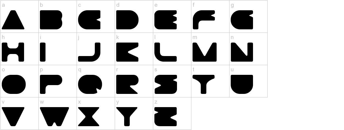 Gtek minimal lowercase