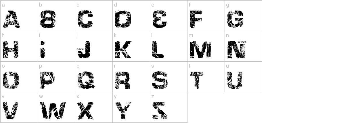 HackingTrashed lowercase
