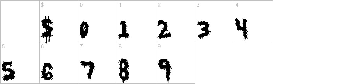 HairyFun characters