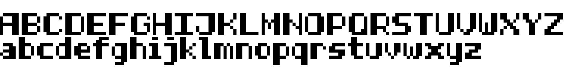 Half Bold Pixel-7