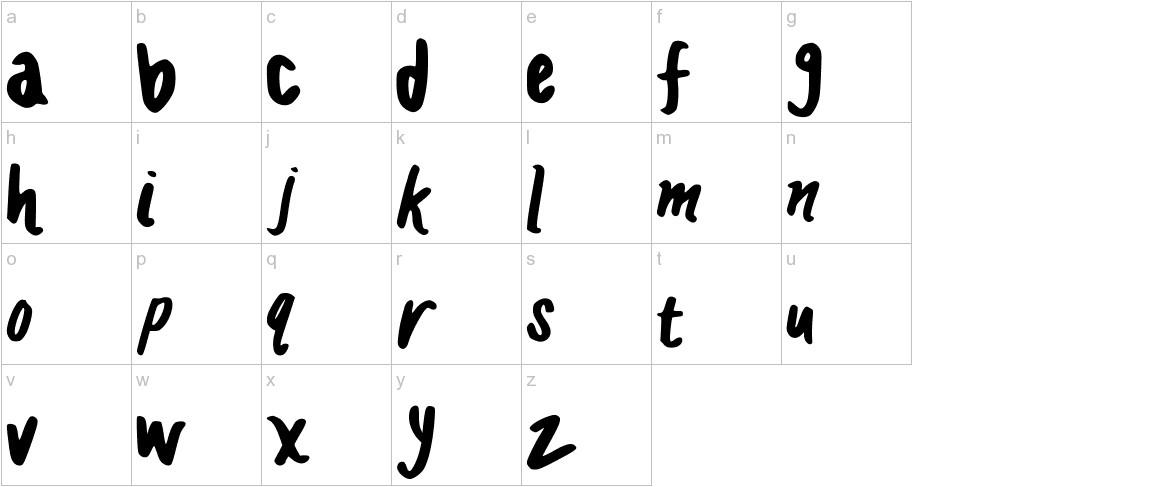 HANDCRAFTED_MADDY lowercase