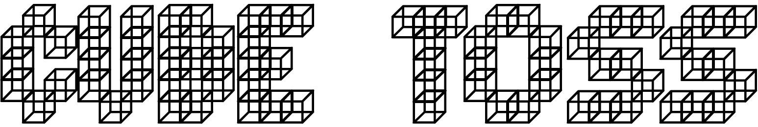 Cube Toss