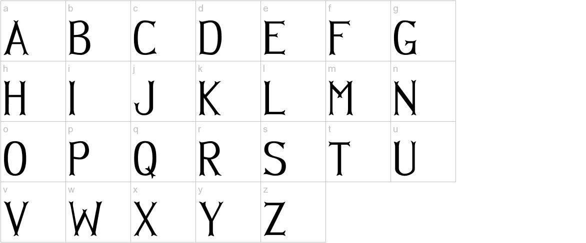 Hellmuth lowercase