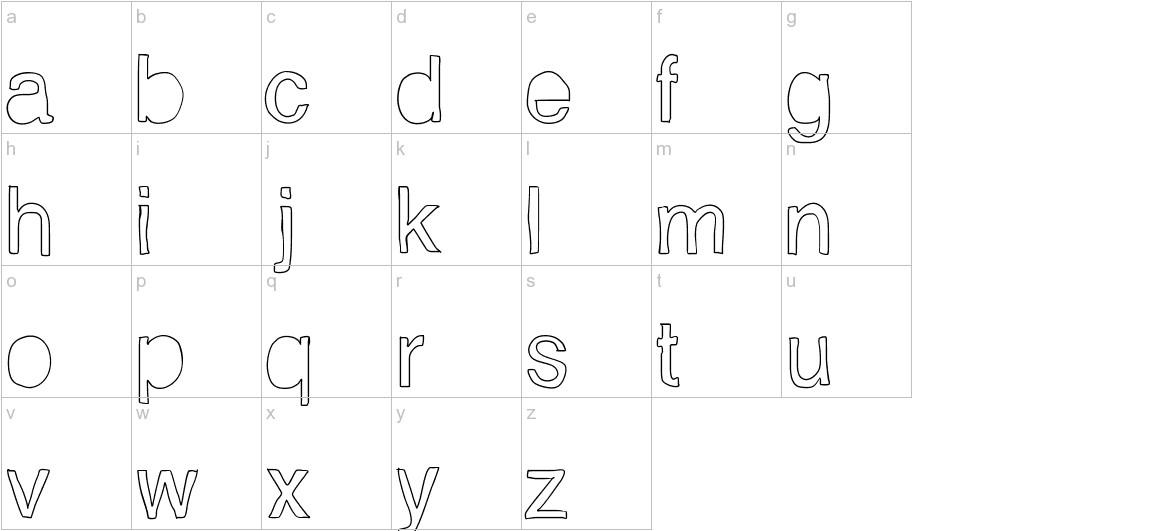 Helveticamazing lowercase